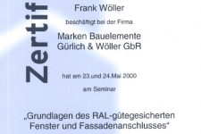 Internorm RAL-Montage 2000 - Hr. Wöller