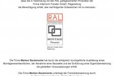 Internorm RAL-Montage 2014 - MARKEN Bauelemente